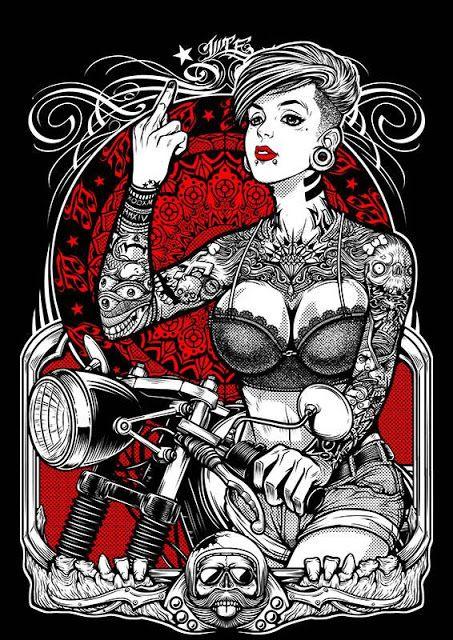 总有一款是你心中的摩托女郎