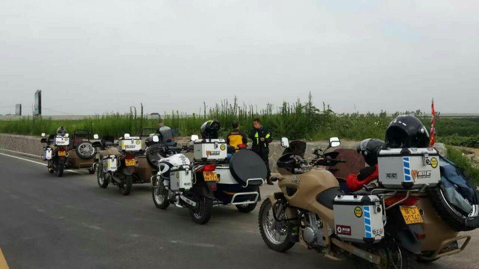 中国军挎范儿,嘉陵600边三轮,重装公路旅行边三轮
