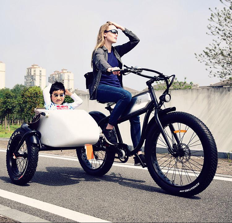 自行车边三轮--脚电混动【电动边三轮】
