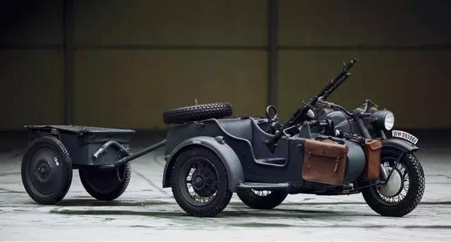 经典老挎 I 德国 Zundapp ks750 二战经典军用边车