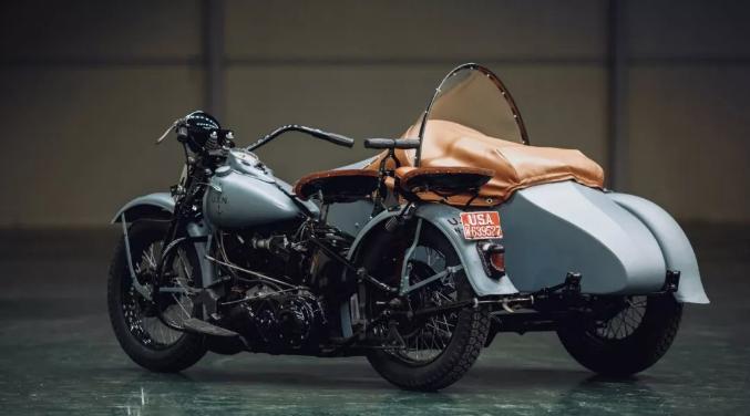 经典老挎 I 美国 Harley-Davidson EL 挎斗边车赏析