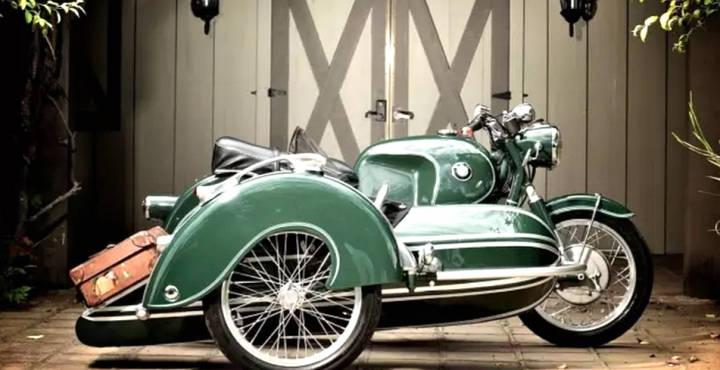 边车赏析 I 宝马(BMW)R60 边车改装,skr......传承一代经典