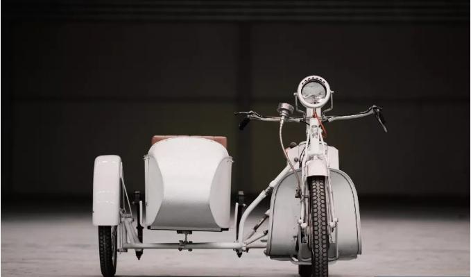 手摇启动,只有两个档位的边车 I 摩托车史上的奠基者--- Mars A20
