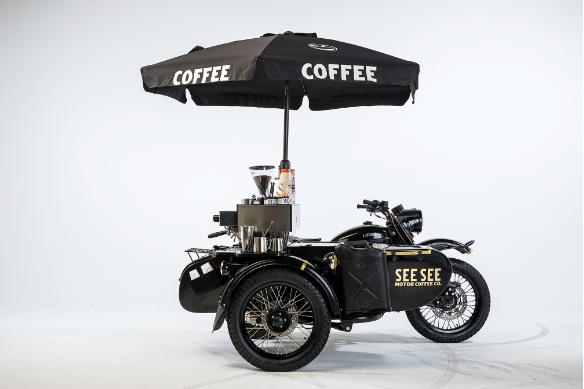 乌拉尔咖啡机 Ural CT I 今天,搞一组靓图,作为礼物,献给自己。