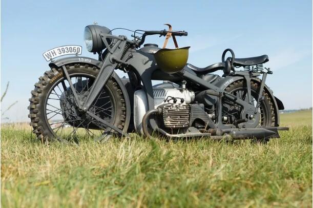 经典老挎 I 德国 Zundapp K800-W 边车