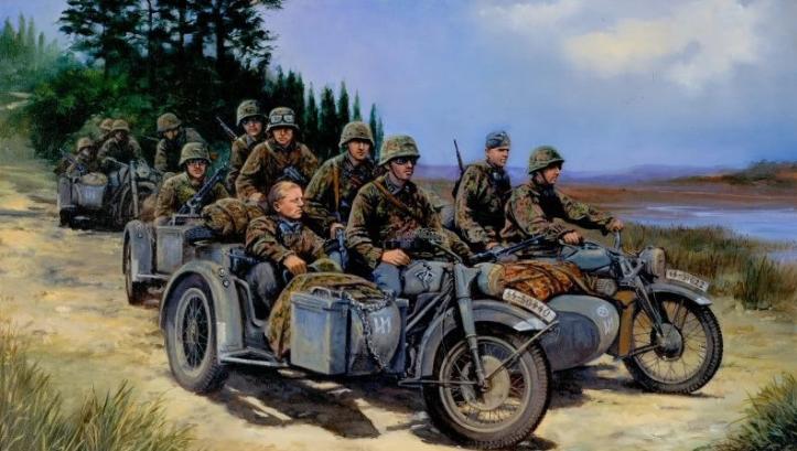 追溯历史 I 盘点二战期间著名的十辆边三轮摩托车